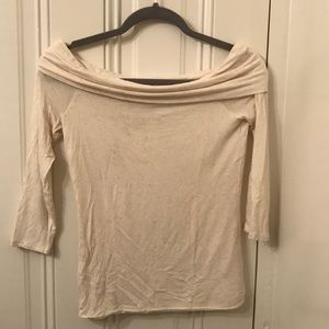 Off the shoulder cowl tee by Amandi